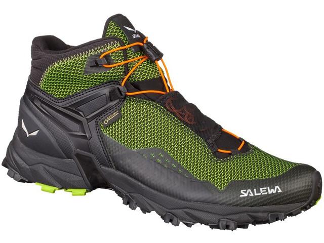 SALEWA Ultra Flex Mid GTX Zapatillas de senderismo Hombre, cactus/fluo orange